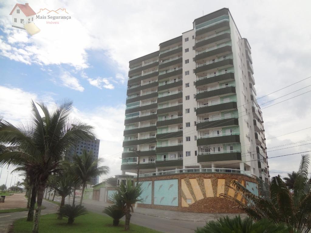 Apartamento residencial à venda, Caiçara, Praia Grande - AP0029.