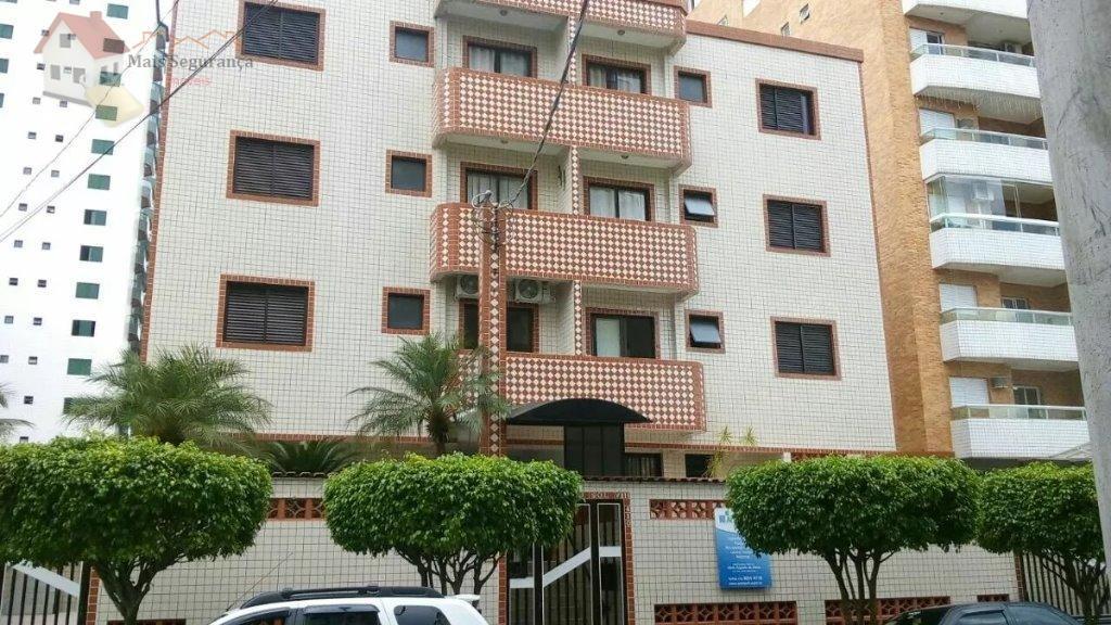 Apartamento residencial para locação, Canto do Forte, Praia Grande - AP0337.