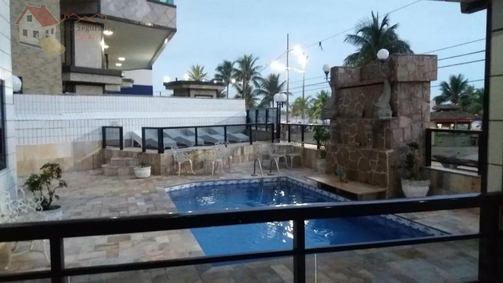 Apartamento com 1 dormitório para alugar, 54 m² por R$ 1.300/mês - Cidade Ocian - Praia Grande/SP