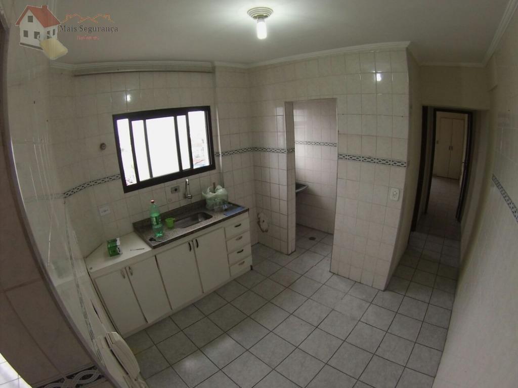 Apartamento residencial à venda, Vila Guilhermina, Praia Grande - AP0349.