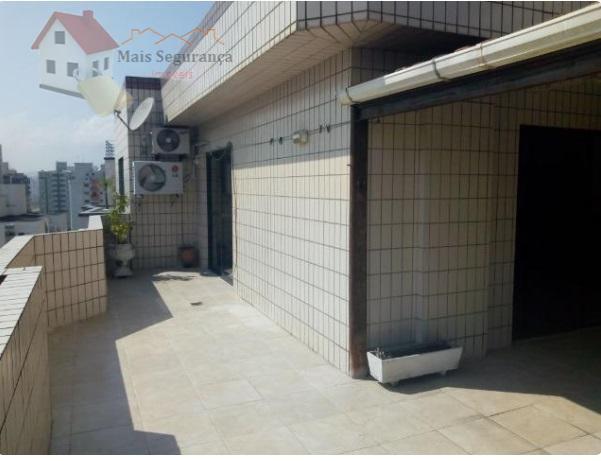 Cobertura residencial para locação, Campo da Aviação, Praia Grande - AP0351.