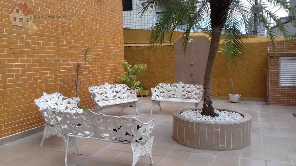 Apartamento residencial para venda e locação, Canto do Forte, Praia Grande - AP0344.