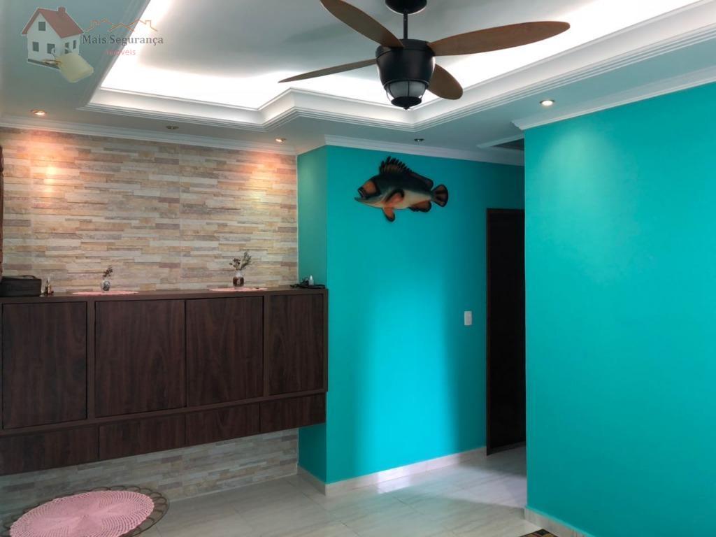 Apartamento residencial à venda, Vila Tupi, Praia Grande - AP0076.