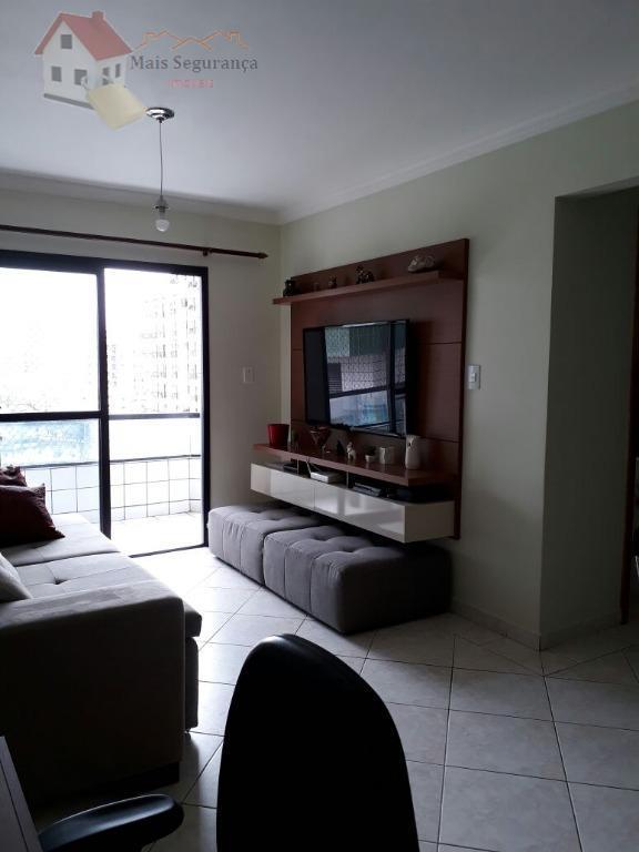 Apartamento residencial para venda e locação, Vila Assunção, Praia Grande - AP0366.