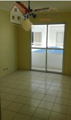 Apartamento com 2 dormitórios à venda, 55 m² por R$ 120.000 - Vila Antártica - Praia Grande/SP