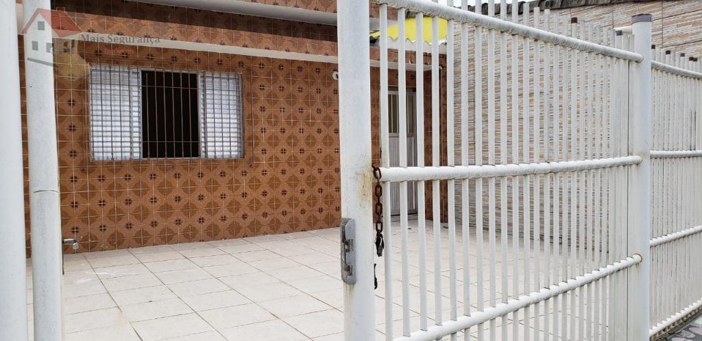 Casa com 3 dormitórios à venda, 91 m² por R$ 350.000 - Vila Tupi - Praia Grande/SP