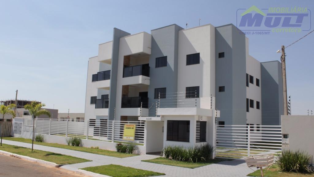 Apartamento 3 quartos, Jardim Das Orquídeas, Nova Mutum.