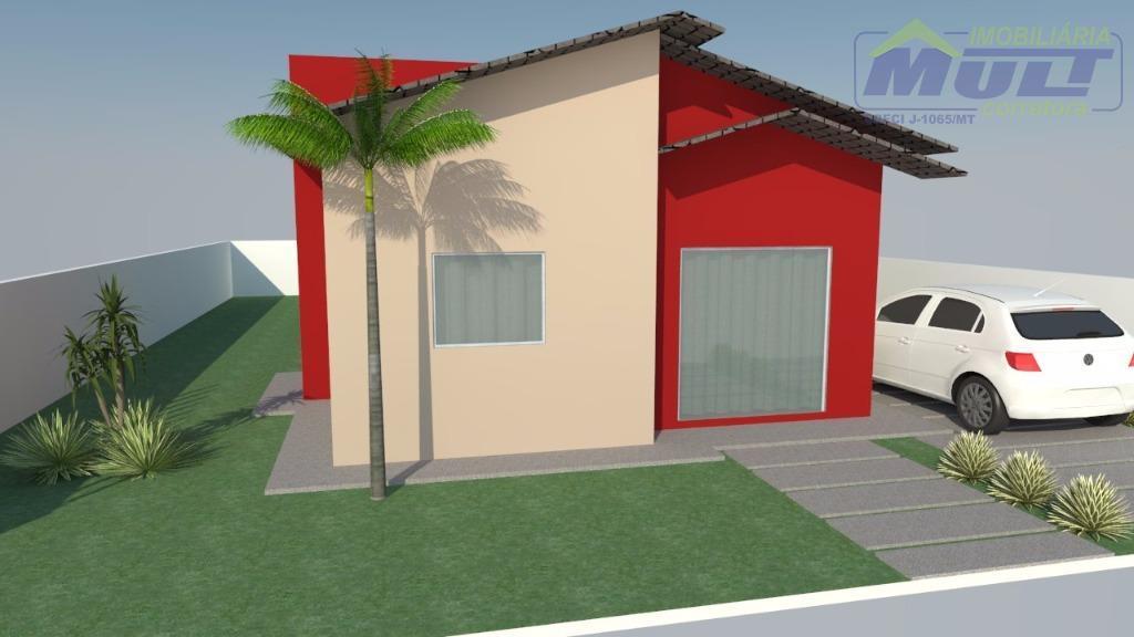 Casa à venda, Residencial Buritis, Sinop.