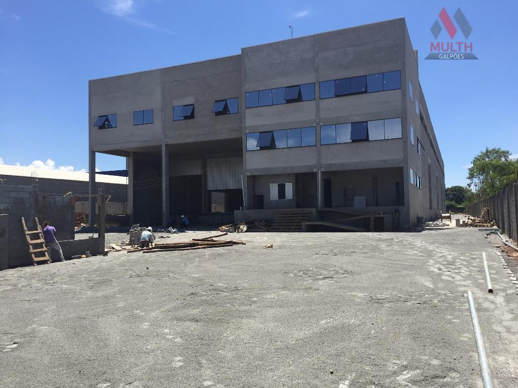 galpão cross docking para alugar ou vender em bonsucessoárea do terreno: 6000m² área construída: 3.415m²área fabril:...