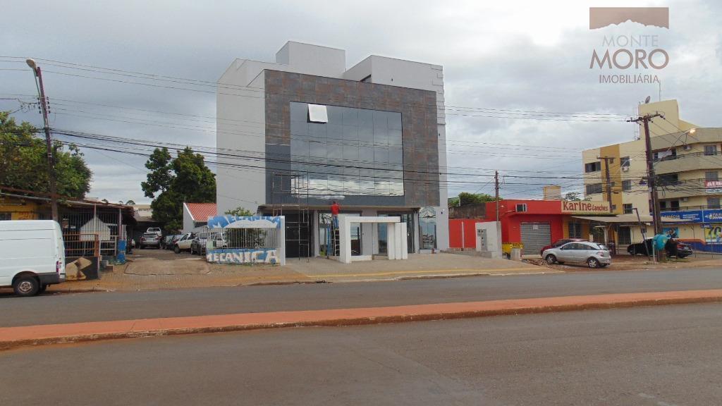 Sala comercial para locação, Jardim das Nações, Foz do Iguaçu.