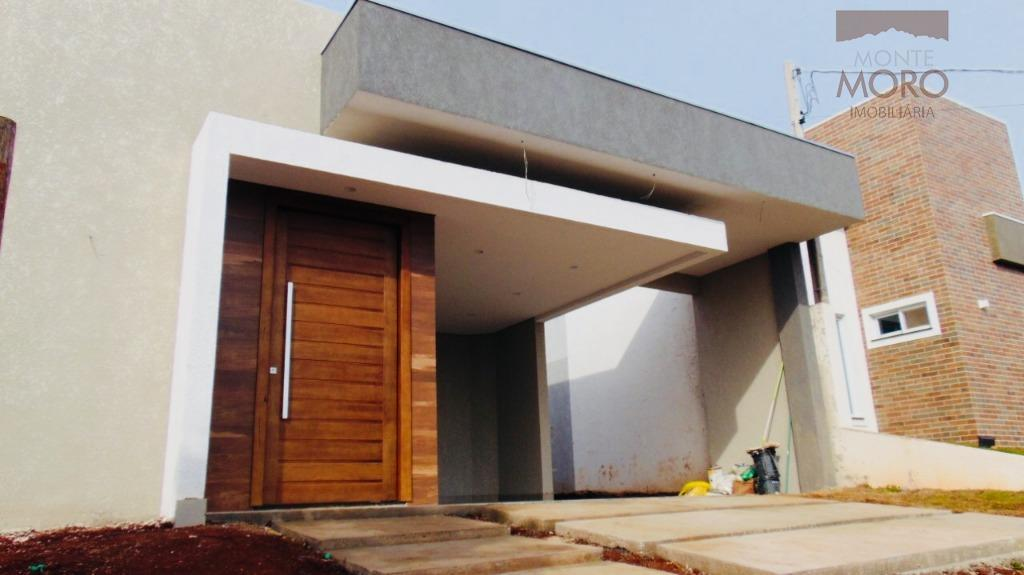 Sobrado residencial à venda, Jardim das Palmeiras II, Foz do Iguaçu.