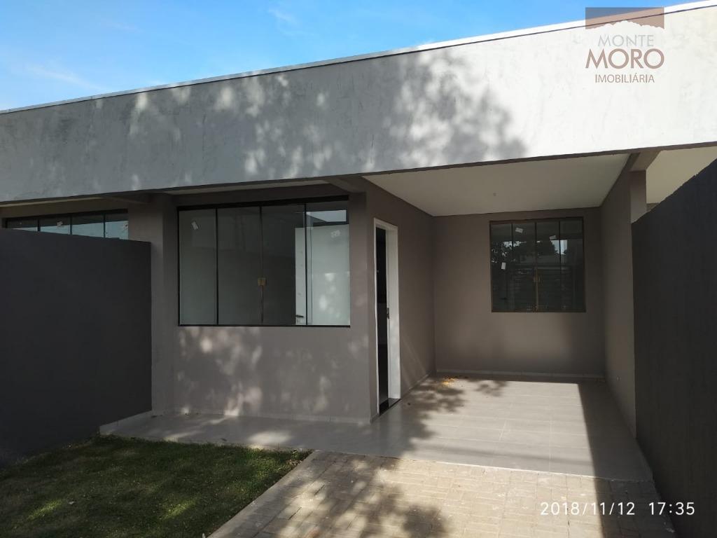 Casa com 2 dormitórios à venda, 149 m² por R$ 240.000