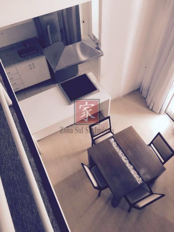 Loft Duplex residencial à venda, Paraíso do Morumbi, São Paulo.