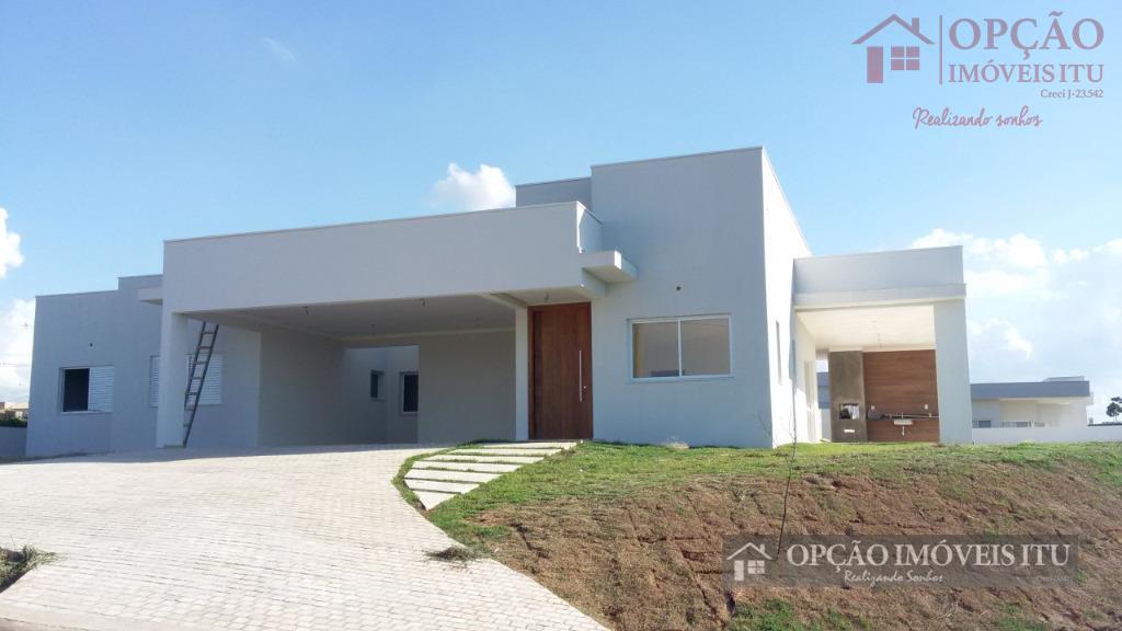 Casa residencial à venda, Condomínio Xapada Parque Ytu, Itu - CA0655.