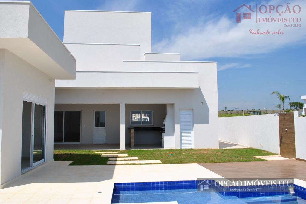 Casa residencial à venda, Condomínio Xapada Parque Ytu, Itu - CA0370.