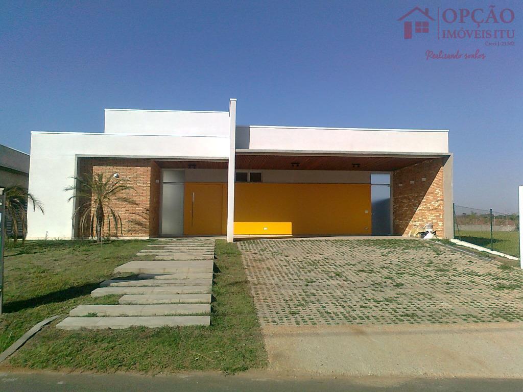 Casa residencial à venda, Condomínio Xapada Parque Ytu, Itu - CA0371.