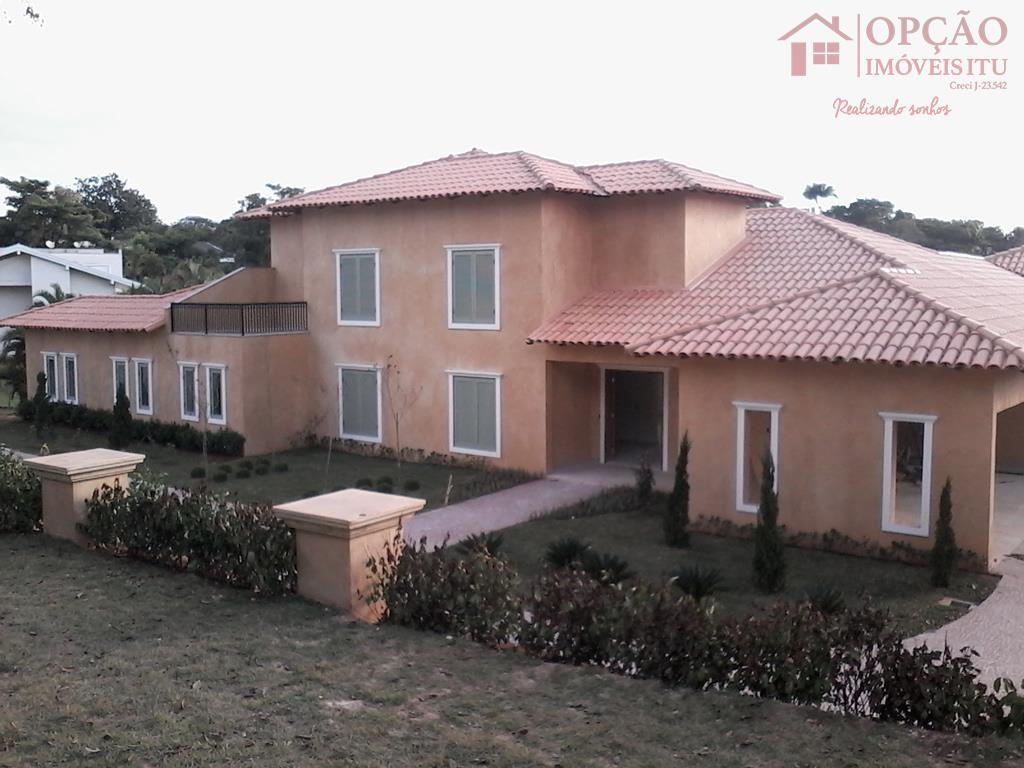 Casa residencial à venda, Condomínio Terras de São José, Itu - CA0637.