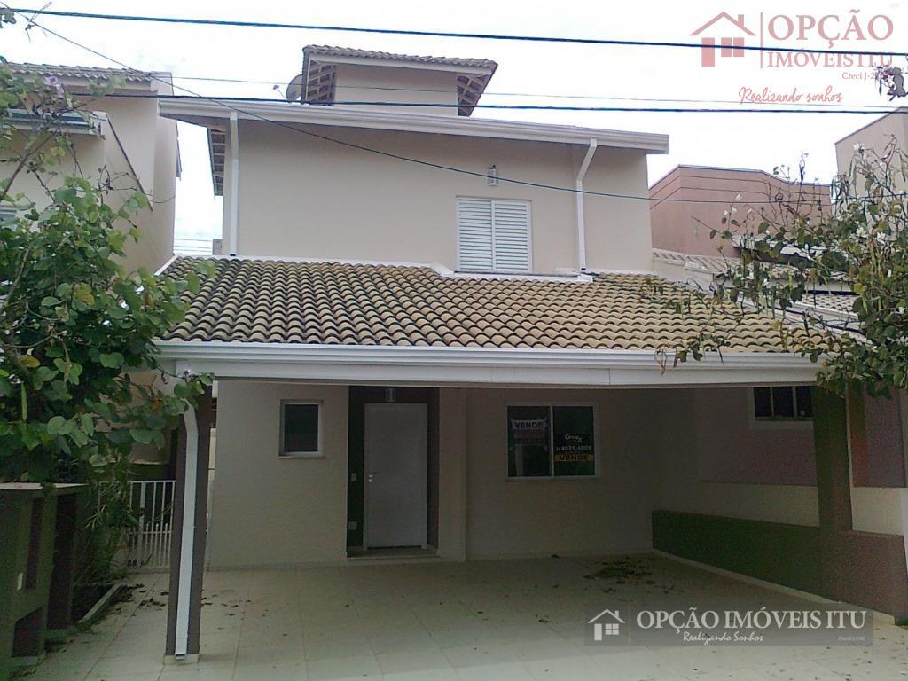 Casa residencial à venda, Chácara Bela Vista, Itu - CA0570.