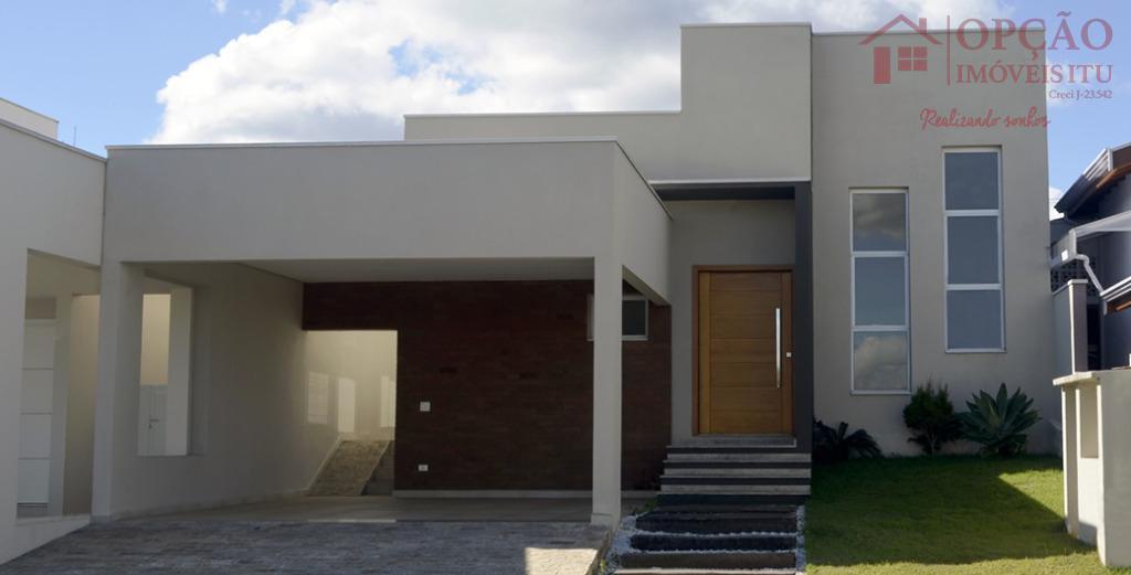 Casa residencial à venda, Condomínio Vila das Hortênsias, Itu - CA0613.