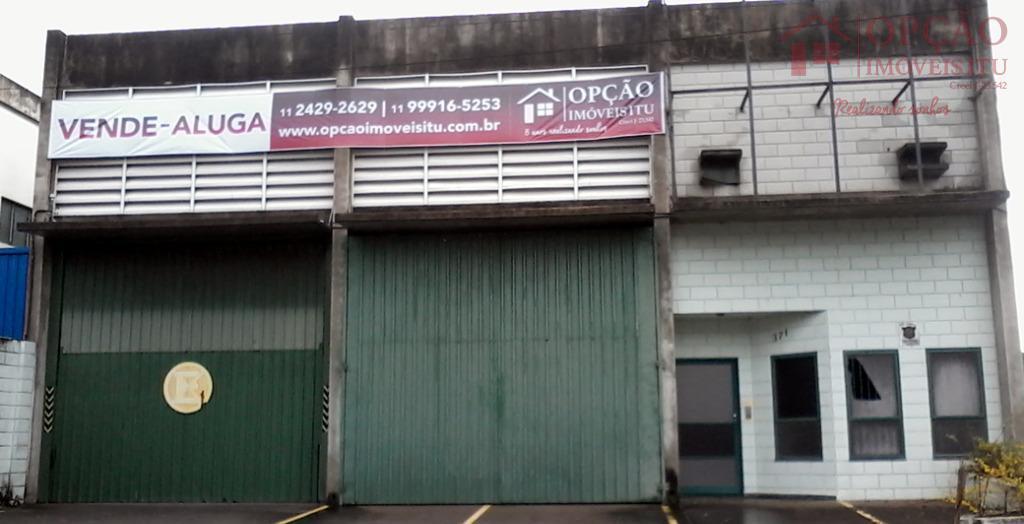 Barracão industrial à venda, Jardim Paraíso I, Itu - BA0013.