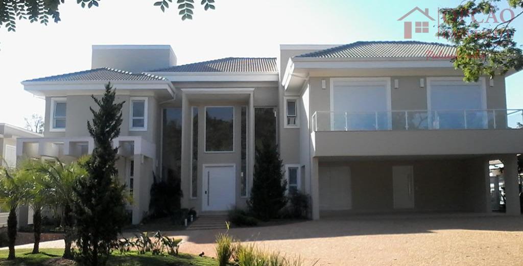 Casa residencial à venda, Condomínio Terras de São José, Itu - CA0679.