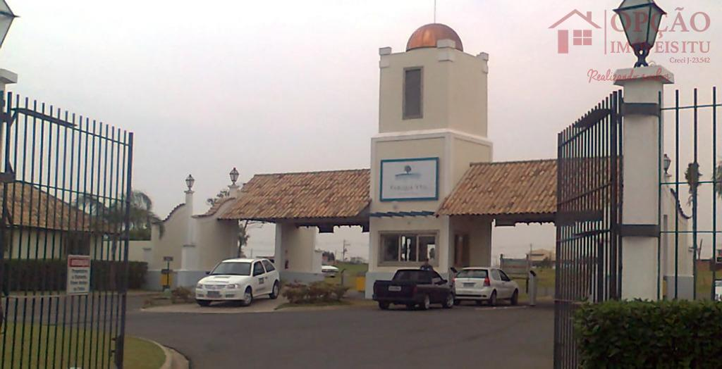 Terreno residencial à venda, Condomínio Xapada Parque Ytu, Itu.
