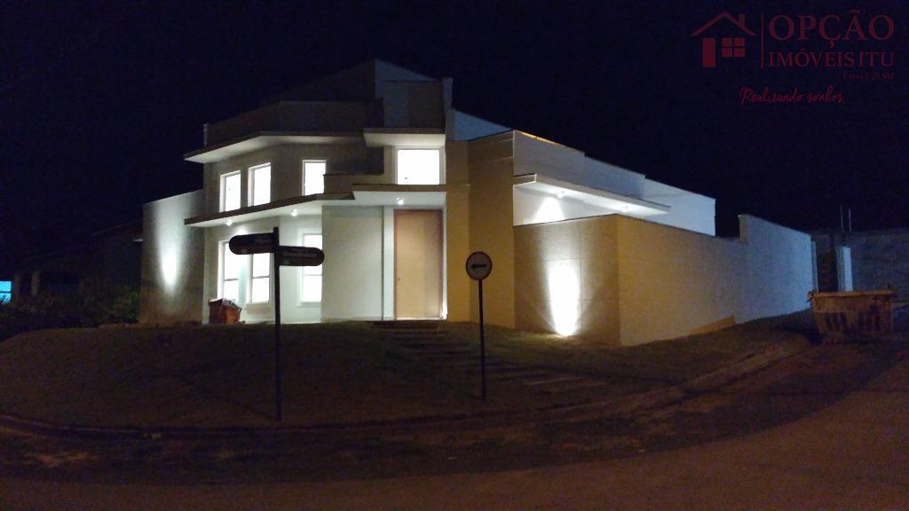 Casa residencial à venda, Condomínio Palmeiras Imperiais, Salto.