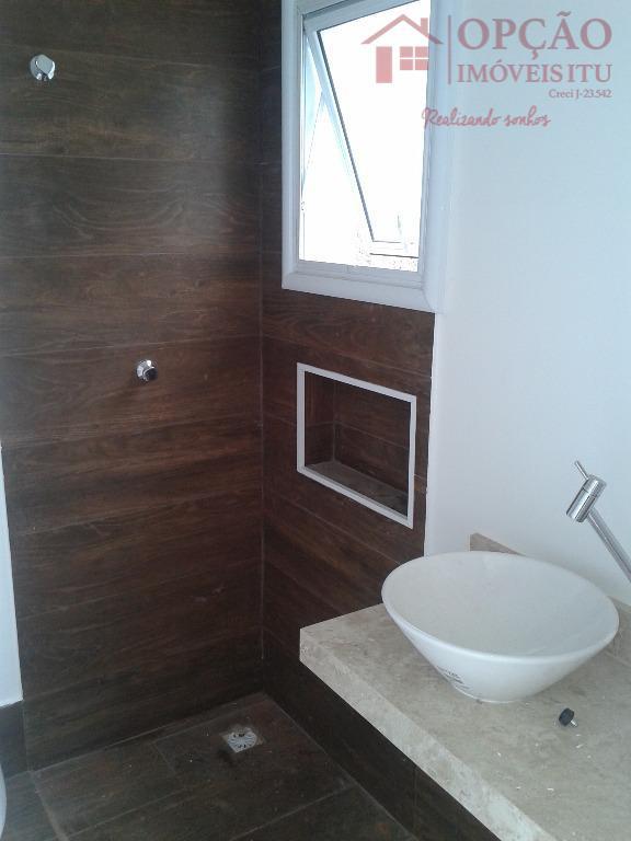 condomínio aldea de spanã - itu/spsobrado novo, contendo 03 suítes, com aquecimento solar e já preparado...