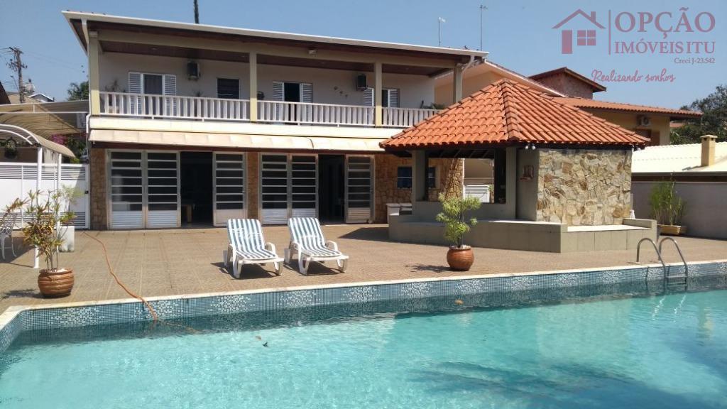 Casa residencial à venda, Condomínio Campos de Santo Antonio, Itu - CA0963.