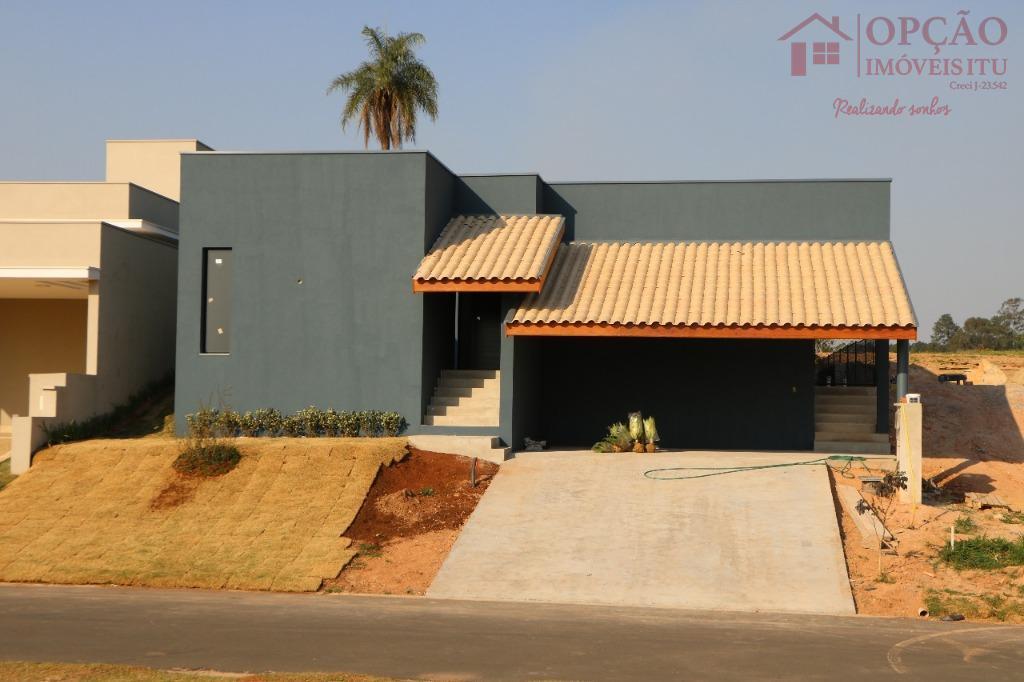 Casa residencial à venda, Condomínio Villas do Golfe, Itu.