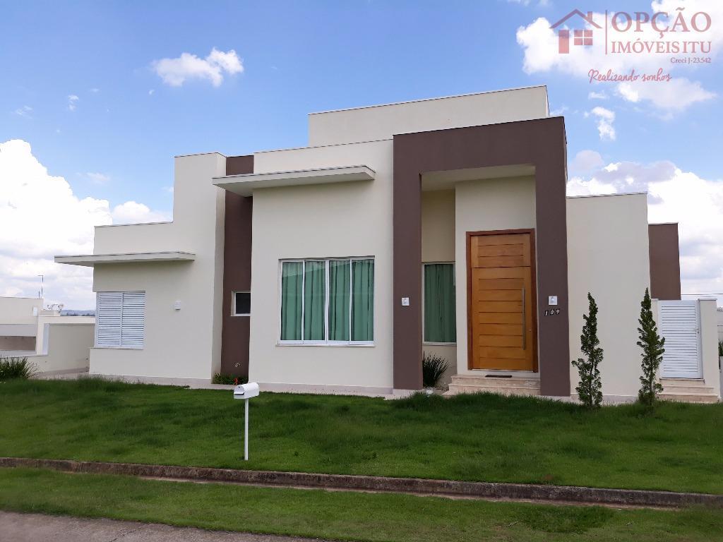 Casa residencial para venda e locação, Condomínio Palmeiras Imperiais, Salto - CA0828.