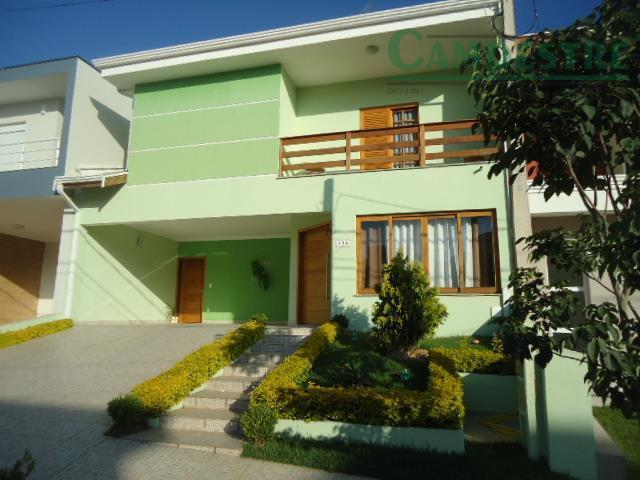 Casa residencial à venda, Condomínio Madre Maria Villac, Valinhos - CA0777.