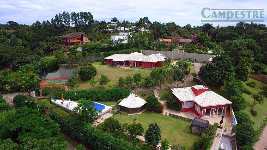 Casa residencial à venda, Condomínio Village Sans Souci, Valinhos - CA0803.