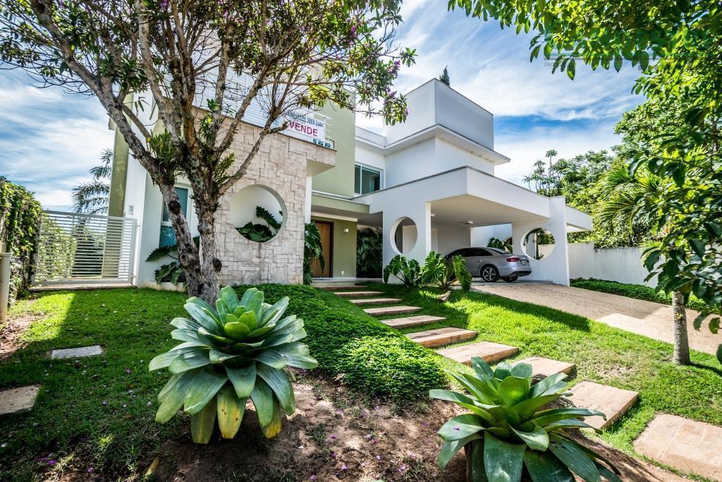 Casa residencial à venda, Condomínio Clube de Campos Valinhos, Valinhos - CA0333.