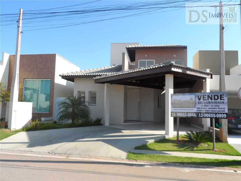Casa residencial à venda, Condomínio Vila das Hortensias, Itu.