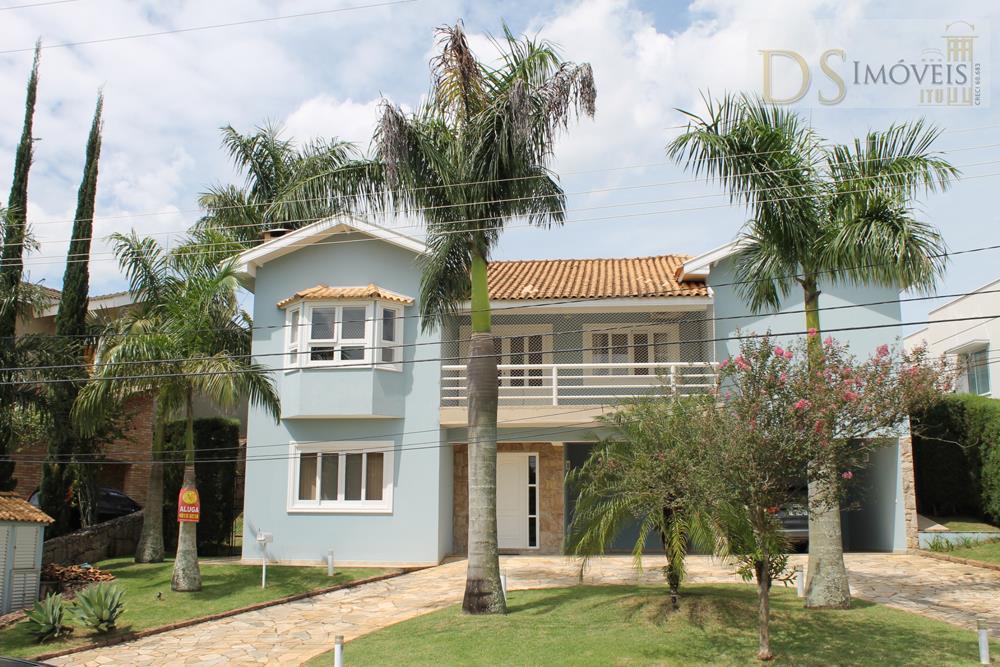 Casa  residencial para locação, Bairro Campos de Santo Antônio, Itu.