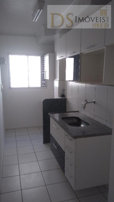 Apartamento residencial para locação, Vila Santa Terezinha, Itu.