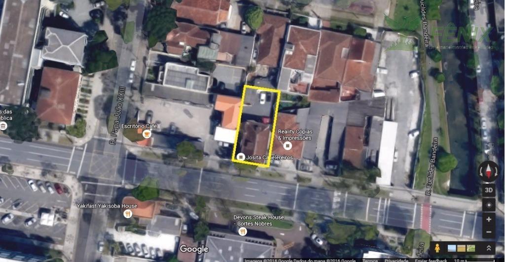 Terreno  comercial à venda, Centro Cívico, Curitiba.