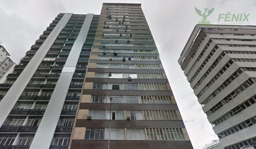Conjunto comercial com 125m²  à venda, Centro, Curitiba.