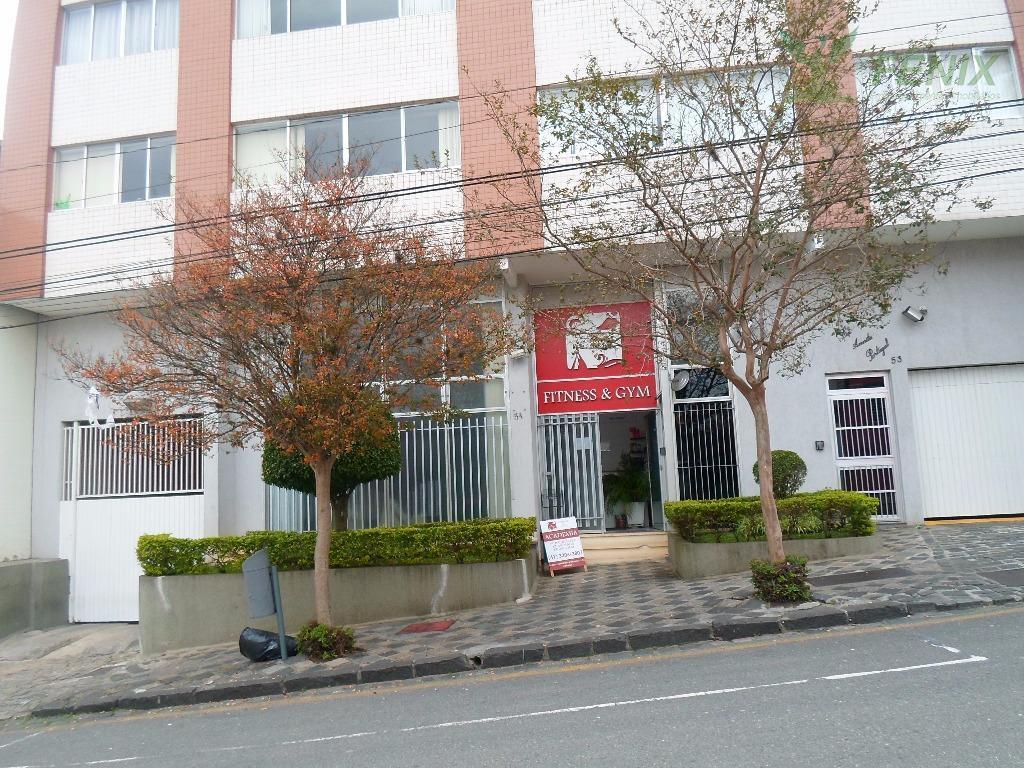 Apartamento 2 quartos mobiliado para locação, Centro, Curitiba.