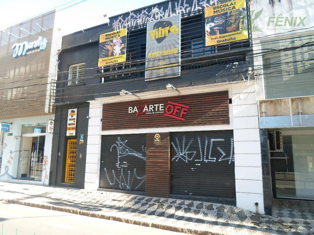 Conjunto comercial para locação, Juvevê, Curitiba.