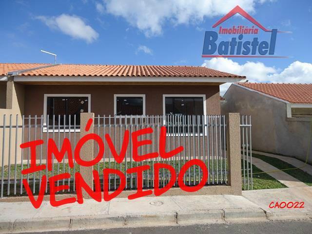 Casa  residencial à venda, com laje, Itaqui, Campo Largo.