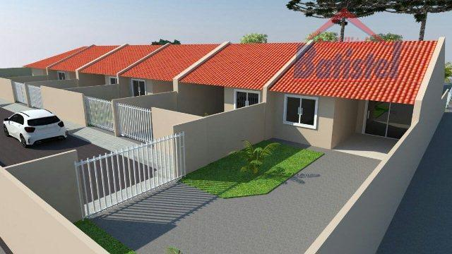 Casa residencial à venda, Vila Rivabem, Campo Largo.