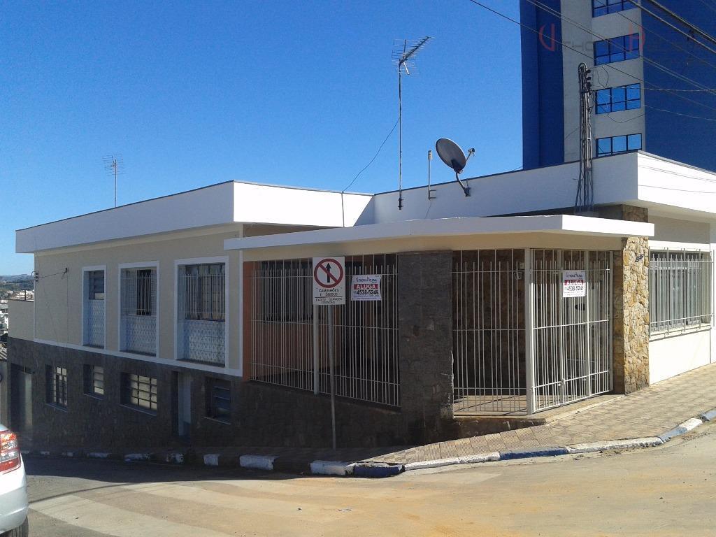 Casa residencial para locação, Centro, Itatiba.