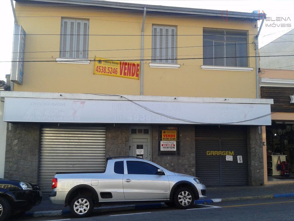 Casa comercial para venda e locação, Centro, Itatiba.