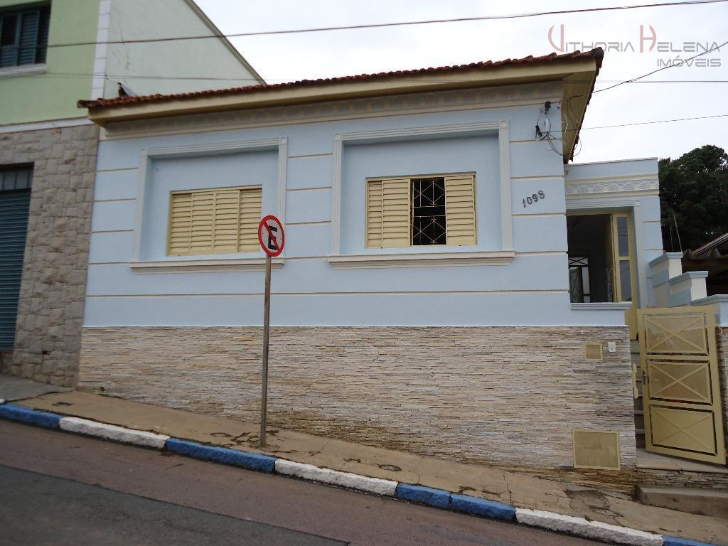 Casa comercial para locação, Centro, Itatiba.