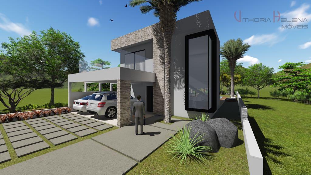 Casa com 3 dormitórios à venda, 230 m² por R$ 1.120.000 - Condomínio Reserva Santa Rosa - Itatiba/SP
