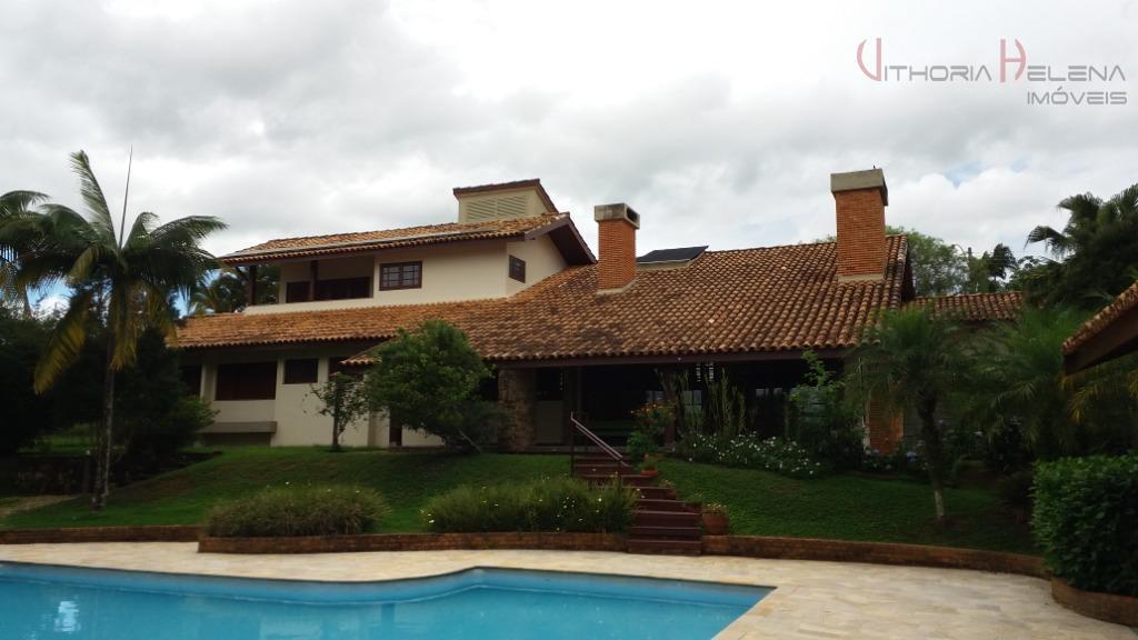 Casa com 5 dormitórios à venda e locação -Condomínio Jardim Santa Rosa - Itatiba/SP