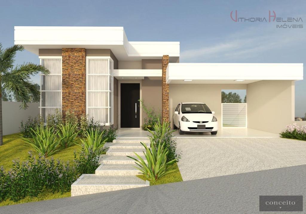 Casa com 3 dormitórios à venda, 181 m² por R$ 880.000 - Condomínio Reserva Santa Rosa - Itatiba/SP
