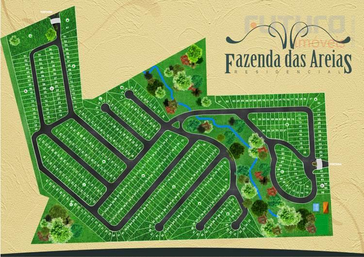 Terreno residencial à venda, Fazenda das Areias, São João da Boa Vista - TE0418.